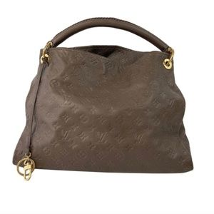 Louis Vuitton Empreinte Artsy MM in Ombre Brown